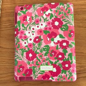 Lilly Pulitzer IPad gen 2 and 3 floral case.